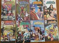 Archer and Armstrong by Valiant 1993 Lot of 8 Issues 10 - 17