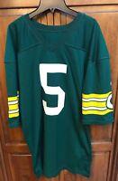 Rawlings Green Bay Packers Paul Hornung Don Majkowski 5 Jersey Men 44 USA Made