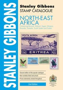 North East Africa Stamp Catalogue by Stanley Gibbons - 2nd Edition -392 pages