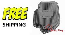 Pontiac Oldsmobile Buick Turbo 375 400 Transmission Pan Steel w/ Drain Plug NEW