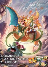Pokemon Card Game Art Collection Illust Book Charizard EXese