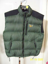 Mountain HardWear Mens Vest  Green w/ Black  Large  Pre-Owned