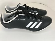 Adidas Performance Mens Track Spikes Core Black White SIZE 10.5 New (CP9697)