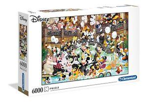 PUZZLE DISNEY 6000 PIEZAS CLEMENTONI 36525 DISNEY GALA - Puzzles Disney Grandes