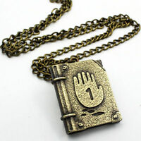 1PC Cool Gravity Falls Journal Number 1 Necklace Pendant Cosplay Costume