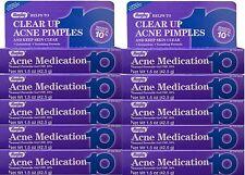 Benzoyl Peroxide 10 % Maximum Strength Acne Medication Gel 1.5 oz each 10 PACK