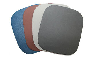 2 Aufbügel- Reparaturflicken ca. 10,8 x 9,8 cm für Leder / Kunstlederflicken