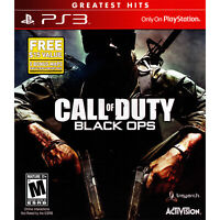 Call of Duty: Black Ops Video Game Greatest Hits Sony PlayStation 3 PS3 EUC