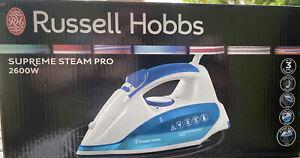 0.3 litres 2600 W bleu Russell Hobbs 21370 Vapeur Glide Professionnel Fer à vapeur