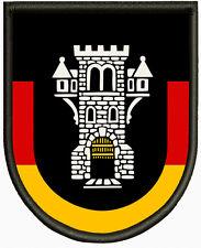 Wappen von Menden (Sauerland) Aufnäher, Pin, Aufbügler