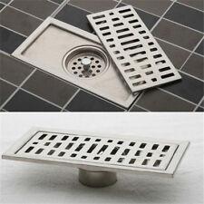 FD1990 Stainless Steel Bathroom Floor Drain Shower Square Floor Waste Grate