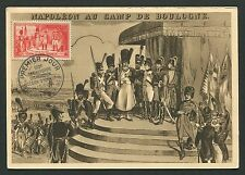 FRANCE MK 1954 NAPOLEON LEGION HONNEUR MILITARY CARTE MAXIMUM CARD MC CM d4428