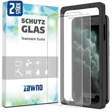 2x Panzerfolie iPhone 6 7 8 Plus MIT INSTALLATIONSRAHMEN Display Schutz Hartglas