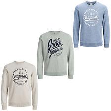 Jack & Jones Originals Sweatshirt Crew Neck Summer Sweater Jumper Mens Jorbreeze