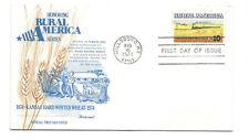 1506 Rural America  Kansas Winter Wheat + Train Fleetwood  FDC
