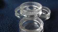 """EAPG -  US Glass (Ripley) """"Silver Queen"""" individual open salts (4)"""
