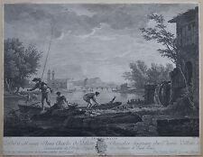 Kupferstich nach J. Vernet,  Paris  um 1800   (# 3896)