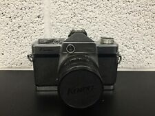 Kowa SE 35mm Vintage SLR Film Camera - 50mm F1.8 Lens & Leather Case - Untested