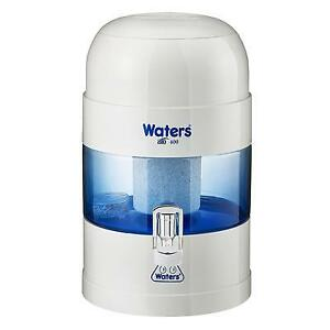 BIO 400 -  5.25 Litre Bench Top Water Filter, Ioniser and Alkaliser - Off Whi...