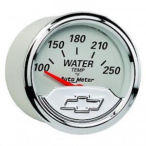 AUT1337-00408 Autometer 1337-00408 Chevy Vintage Water Temperature Gauge,