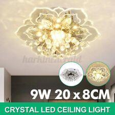 LED Deckenlampe Kristall Deckenleuchte Kronleuchter Wohnzimmer Leuchte Lampe DE