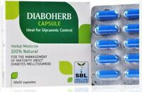 SBL Homoeopathic Diaboherb Capsule 100Tab Maintain Blood Sugar(High Blood Sugar)