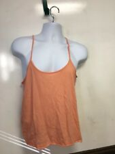 Old Navy Evening Gown Large Preowned Thin Straps Peach 60/40 Cotton Poly