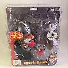 Dallas Cowboys Mr Potato Head Sports Spuds NFL Helmet Jersey Football Hasbro New