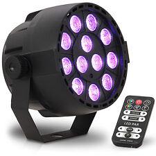 IBIZA PARBAT-RGB3 12x3W Akku LED PAR Scheinwerfer DMX Club Accu Party Strahler