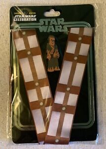 STAR WARS CELEBRATION CHICAGO 2019 -  CHEWBACCA PIN LANYARD SET AND HAN SOLO