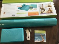 NEW Unopened Gaiam Yoga For Beginners Kit Teal