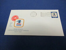 First Day Cover,1971 Inaugurating The United Postal Service ,FDC