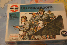 AIRFIX MODEL FIGURES SERIES 1  SCALE 1/72 US PARATROOP VINTAGE MINT BOXED