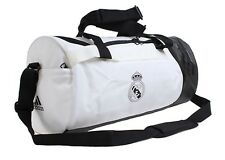 Adidas Real Madrid FC Medium Duffle Bags White Running RMFC GYM Bag Sacks CY5606