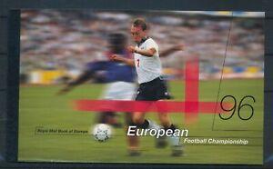 [G385703] U.K 1996 good very fine MNH complete prestige booklet