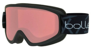 Bolle Freeze Ski & Snowboard Goggles - Matte Black/Vermillion - Medium