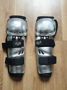 Fox Ventilator knee and shin armour MTB DH XC 4X BMX guards pads adult M/L 0.6kg