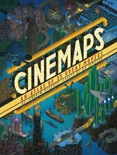 Cinemaps: An Atlas of 35 Great Movies (2017, HC) Free Shipping !!!