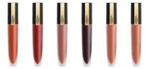 L'Oreal Rouge Signature Lightweight Matte Lip Color CHOOSE YOUR SHADE