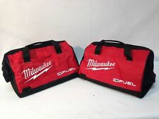 "2 New 16 inch Milwaukee Fuel Heavy Duty Contractor Tool Bags 16""L x 11""W x 11""D"