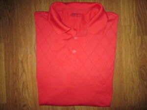 Mens NIKE FIT DRY athletic collared polo golf shirt XXL 2XL