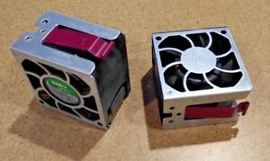 HP Proliant DL380 DL385 G5 Server Hot Plug Cooling Fan 394035-001 Lot of 2 Fans!
