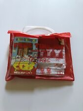 """Vintage Sanrio 1976 Hello Kitty """"Free Time Kit"""" Bath Set. Pre-owned NEVER USED."""