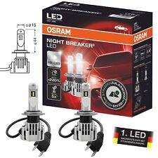 OSRAM H7 NIGHT BREAKER LED BULBS HEADLIGHT +220% HELLIGKEIT StVZO ZULASSUNG