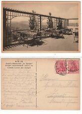 """Stuttgart, Ansel's restaurant """"en pecadores"""" diemershaldenstraße 35, 1921"""