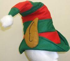 Vestito Natale Uomini Donne Bambini Felpa Unisex Cappello Da Elfo