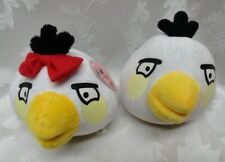 "Angry Birds 5"" Matilda & White Male Bird Soft Stuffed 2010 Rovio Comonwealth 2PC"