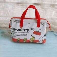 Peanuts Snoopy house Insulated Cold Warm Storage Lunch Bag from Japan Magazine