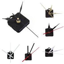 Black/White Spindle Hands Quartz Clock Movement Mechanism DIY Repair Tool Craft