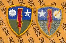 US ARMY 75th Infantry Brigade Airborne Ranger uniform patch m/e